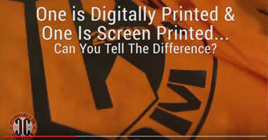 Digital Printing, Screen Printing, and Embroidery