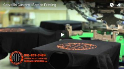 Corvallis Custom - Printing: Apparel, Paper, Large-Format