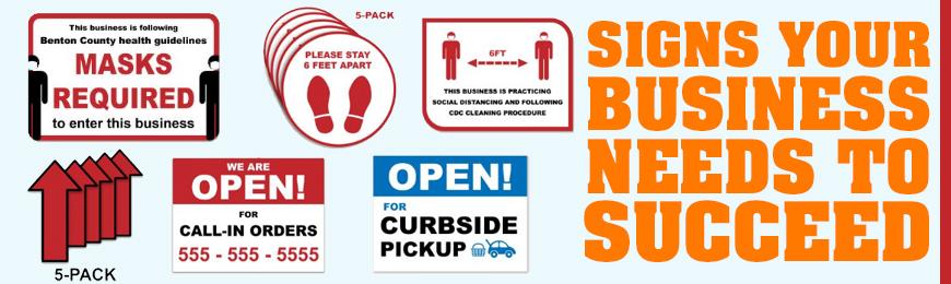Signage & Notices