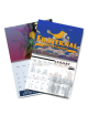 8.5 X 11 Saddle Stitch Calendars