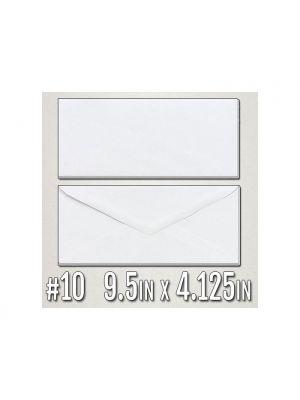 Envelopes | 9.5 X 4.125 60lb Premium Uncoated Text w/ Security Tint