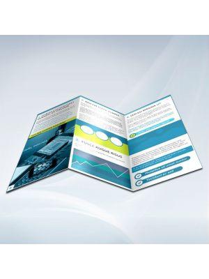 8.5 x 11 Brochures 100LB Gloss Book
