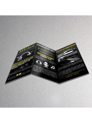 8.5 x 11 Brochures 100LB Gloss Book No AQ