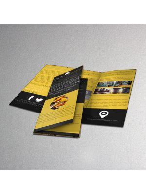 8.5 x 11 Brochures 70LB Premium Uncoated