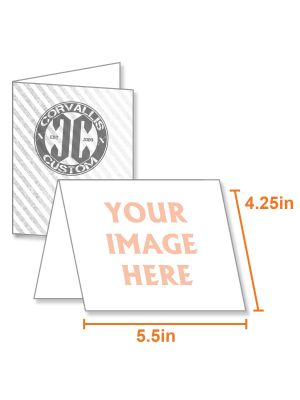 Greeting Cards | 8.5 X 5.5 Uncoated