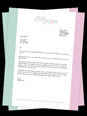 8.5 X 11 Linen - Offset Print | Letter Head