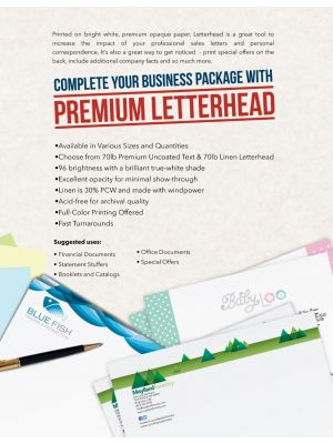 8.5 X 14 70LB Premium Opaque | Letter Head