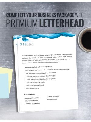 8.5 X 11 70LB Premium Opaque | Letter Head