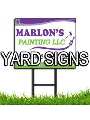 Yard Signs - 18 in. x 24 in.