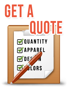 Get an apparel quote from corvallis custom